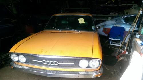 Audi 100 ´73 tibetorange